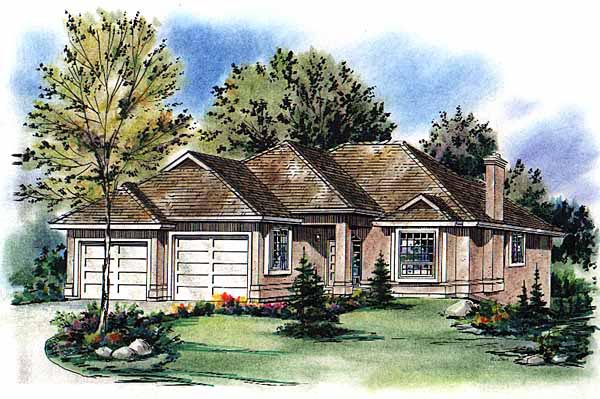 Ranch House Plan 98843 Elevation