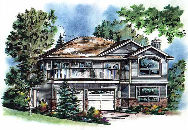 Contemporary House Plan 98844 Elevation