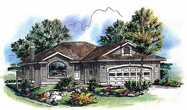Ranch House Plan 98846 Elevation