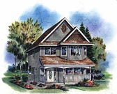 Plan Number 98856 - 1384 Square Feet