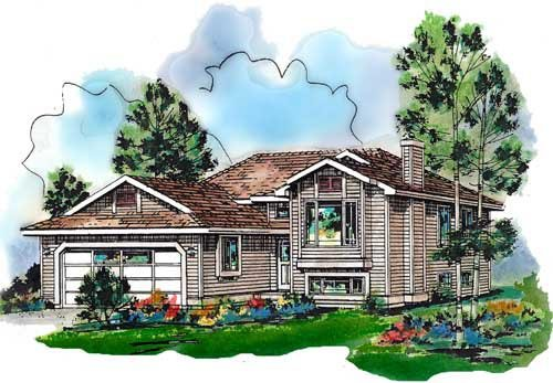 Contemporary House Plan 98860 Elevation