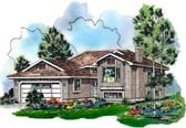 Plan Number 98860 - 1089 Square Feet