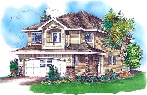 Traditional House Plan 98867 Elevation