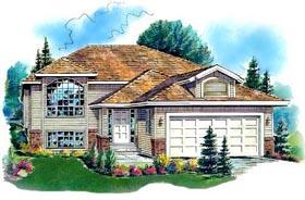 European House Plan 98871 Elevation