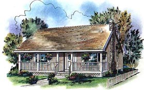 Country House Plan 98872 Elevation