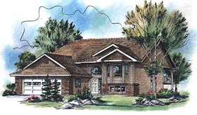 Traditional House Plan 98874 Elevation