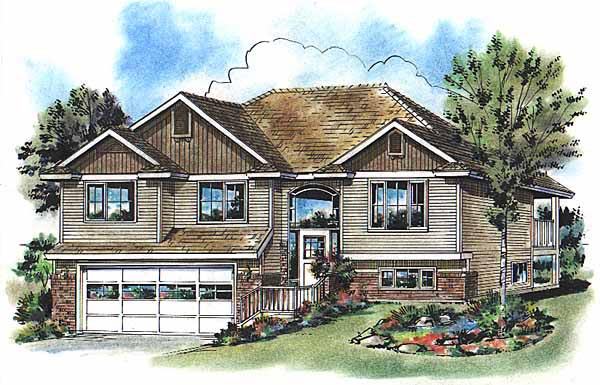Traditional House Plan 98875 Elevation