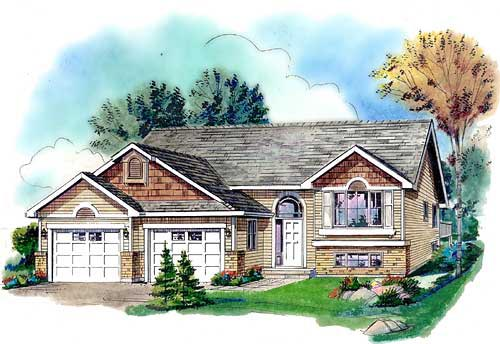 Craftsman Traditional House Plan 98876 Elevation