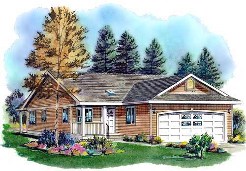 Ranch House Plan 98880 Elevation