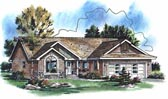 Plan Number 98885 - 1374 Square Feet