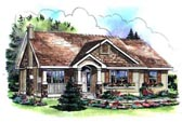 Plan Number 98890 - 1394 Square Feet