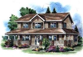 Farmhouse House Plan 98891 Elevation