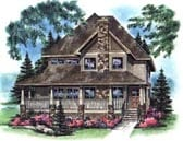 Plan Number 98899 - 1784 Square Feet