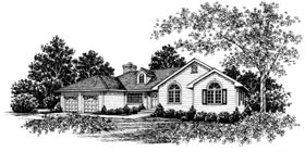 Country European House Plan 99015 Elevation