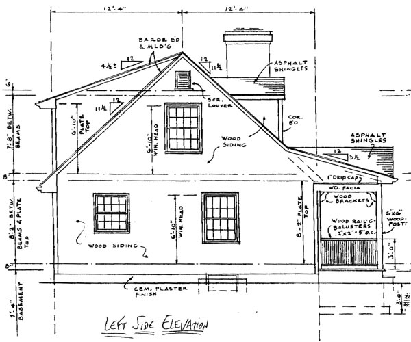 Country, Southern House Plan 99022 with 3 Beds, 3 Baths Picture 1
