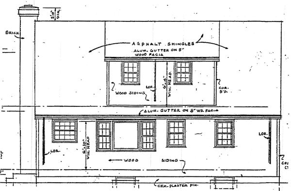 Country Southern House Plan 99022 Rear Elevation