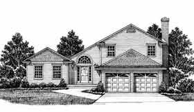 Bungalow House Plan 99027 Elevation