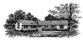 Bungalow Ranch House Plan 99029 Elevation