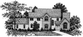 Colonial Country House Plan 99038 Elevation