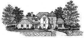 Tudor House Plan 99050 Elevation