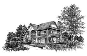 Tudor House Plan 99051 Elevation