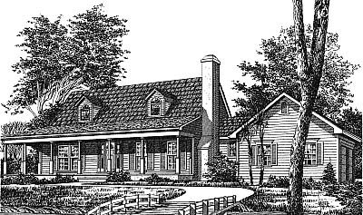 Country House Plan 99060 Elevation