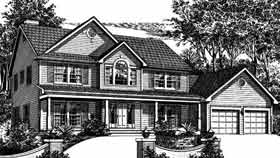 Country House Plan 99062 Elevation