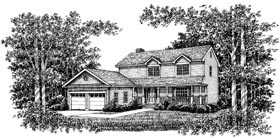 Country House Plan 99067 Elevation