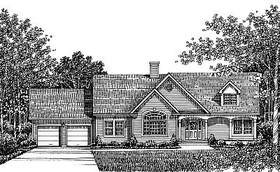 Country House Plan 99068 Elevation
