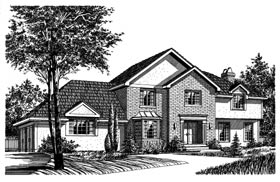 Bungalow House Plan 99070 Elevation