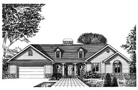 Plan Number 99071 - 2268 Square Feet