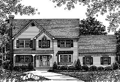 Contemporary House Plan 99074 Elevation
