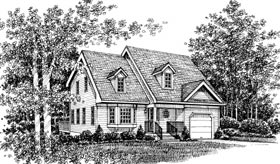 Country Traditional House Plan 99077 Elevation