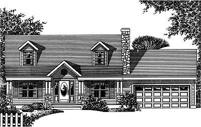 Bungalow Country House Plan 99079 Elevation