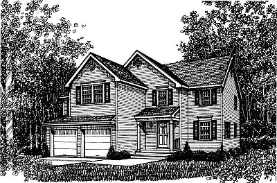 Country Traditional House Plan 99082 Elevation