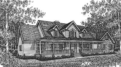 Bungalow Country House Plan 99087 Elevation