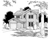 Plan Number 99094 - 1585 Square Feet