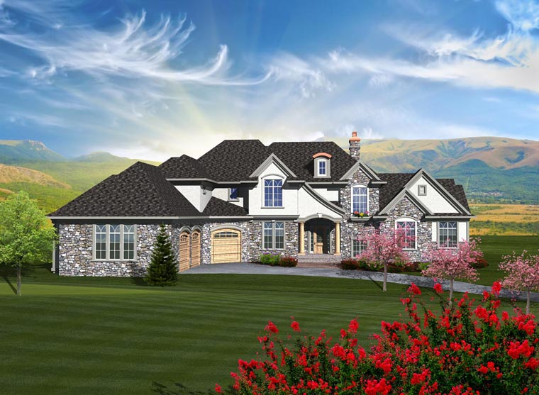 French Country House Plan 99103 Elevation
