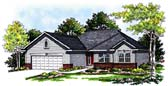 Plan Number 99104 - 1370 Square Feet