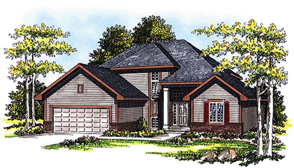 Traditional House Plan 99107 Elevation