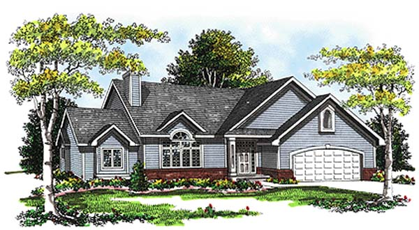 Traditional House Plan 99112 Elevation