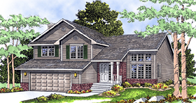 Country House Plan 99123 Elevation