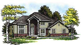 Traditional House Plan 99125 Elevation