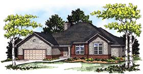 Traditional House Plan 99130 Elevation