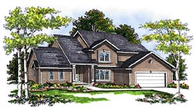 Country Traditional House Plan 99131 Elevation