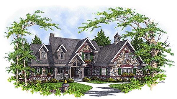 Tudor House Plan 99149 Elevation