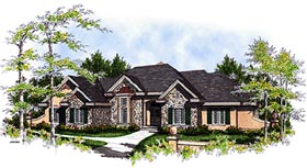 Bungalow House Plan 99151 Elevation