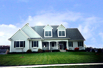 Cape Cod, Country House Plan 99169 with 3 Beds, 3 Baths, 2 Car Garage Picture 1