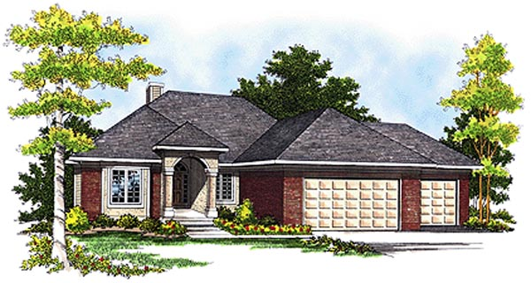 Country Farmhouse House Plan 99184 Elevation