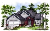 Plan Number 99186 - 1406 Square Feet